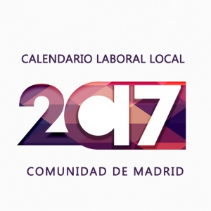 Calendario laboral local de la Comunidad de Madrid 2017