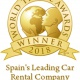 La filial española de Sixt, galardonada con el World Travel Award 2018
